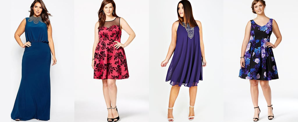 Be the Belle of the Ball in These Plus-Size Party Dresses