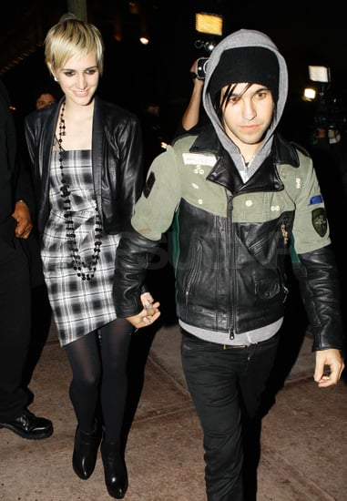 Pictures of Ashlee Simpson and Pete Wentz at Holiday Party in LA