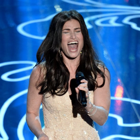 Video of Idina Menzel Singing Let It Go at Oscars