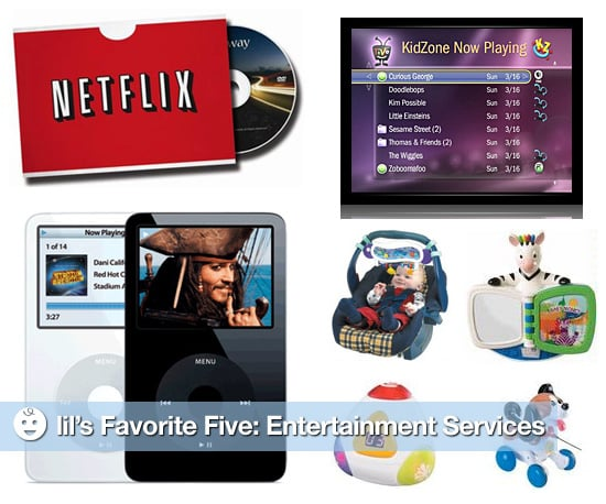 Simple Toy and Movie Rental Services for Children