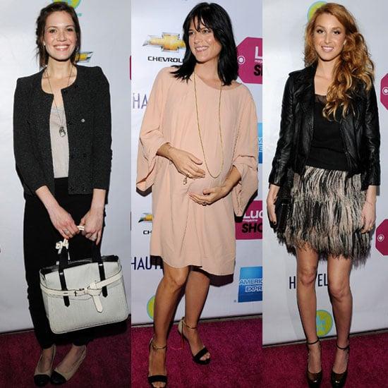 Pictures of Mandy Moore, Selma Blair, Whitney Port, Rashida Jones, Jenna Dewan, and More Celebs at Lucky Shops LA!