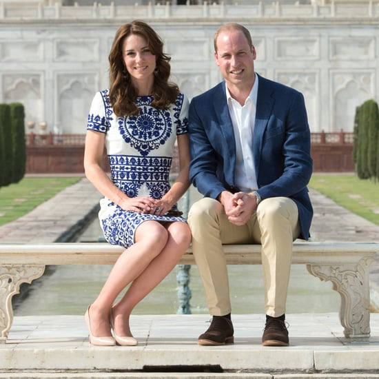 Kate Middleton and Prince William at the Taj Mahal 2016