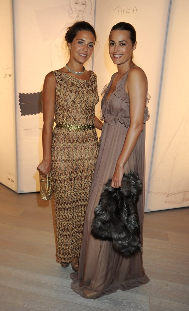 Margherita Missoni and Yasmin Le Bon.