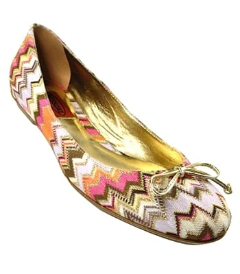 The Look For Less: Missoni Variante Ballerina Flat