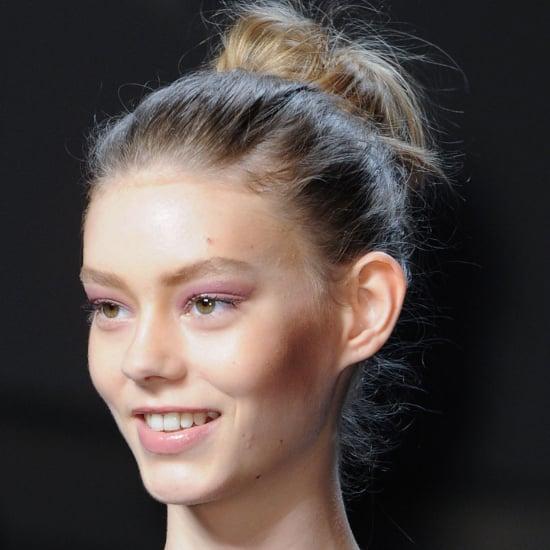 Diane Von Furstenberg Hair and Makeup   Fashion Week