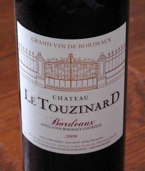 Wine Review: 2009 Chateau Le Touzinard Bordeaux Rouge