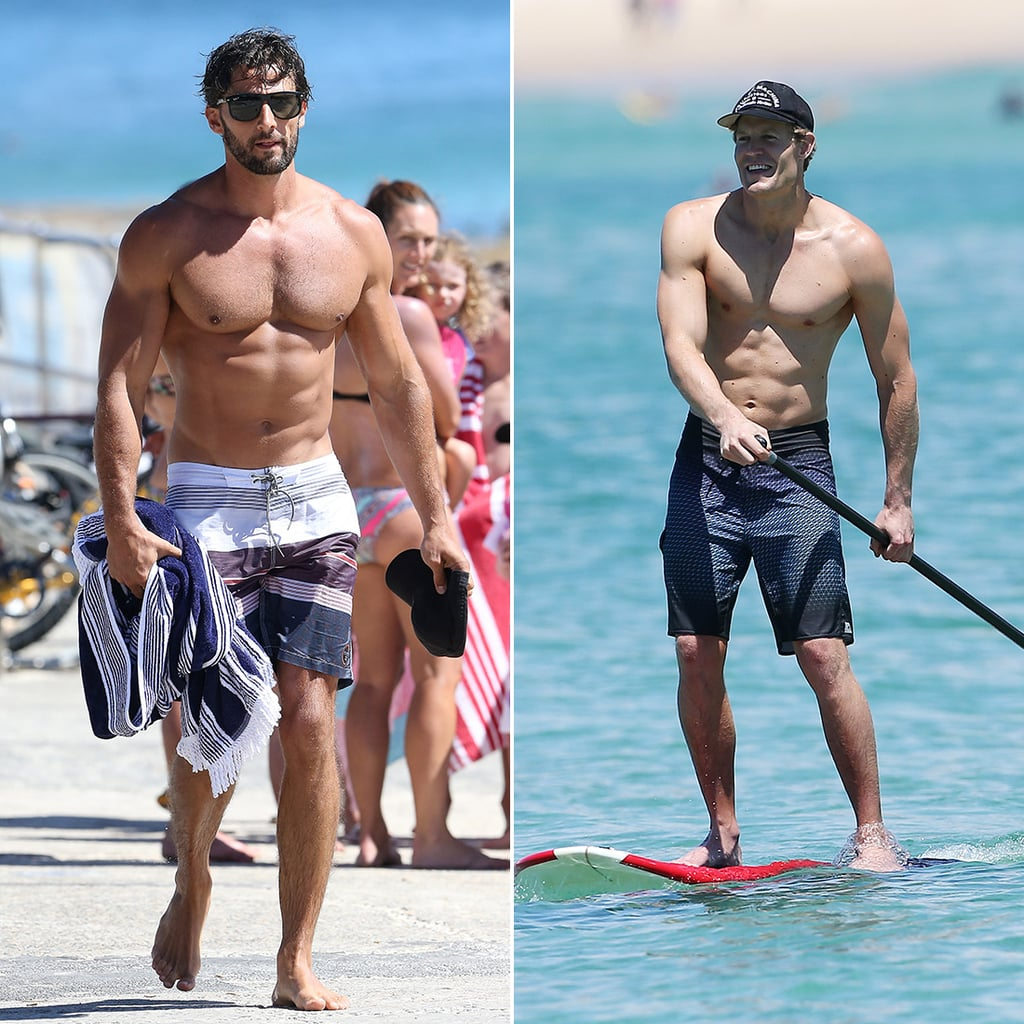 It's Hot in Here! 40+ Shots of Shirtless Celebrities