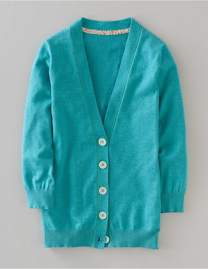 We heart this punchy hue and classic shape. Boden Favourite V-Neck Cardigan ($68)