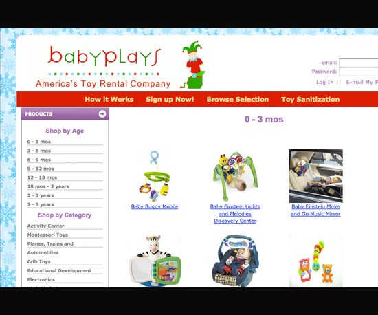 Reduce Costs and Toys by Renting Toys
