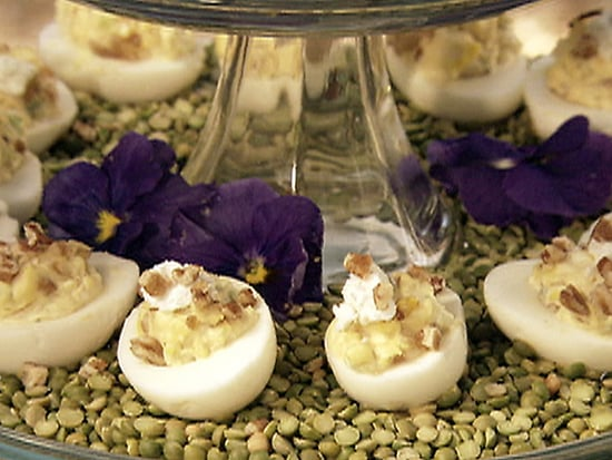Goat Cheese Stuffed Deviled Egg Recipe
