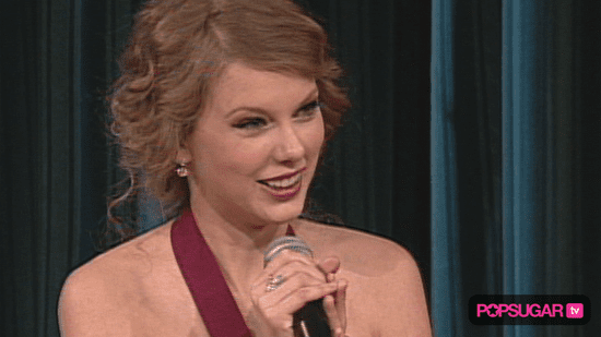 Video of Taylor Swift Accepting an Award