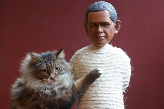 Would You Buy a Scratching Post Shaped Like a Politician?