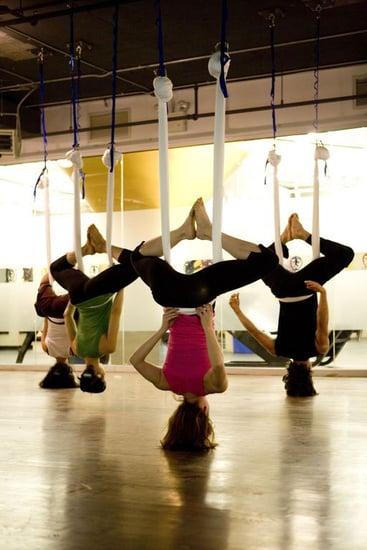 "Class Act: AntiGravity Yoga ""Wings"""