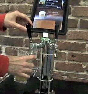 Yelp KegMate iPad Controlled Keg