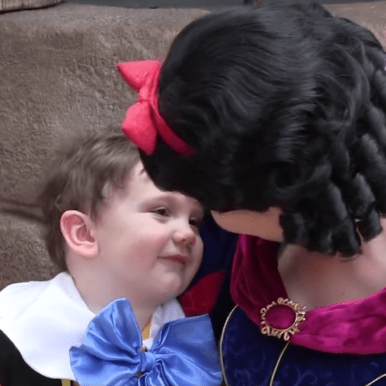 Nonverbal Boy's Interaction With Snow White at Disney World