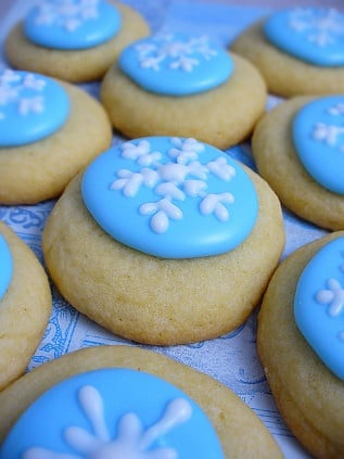 Yummy Link: Snow Cookies