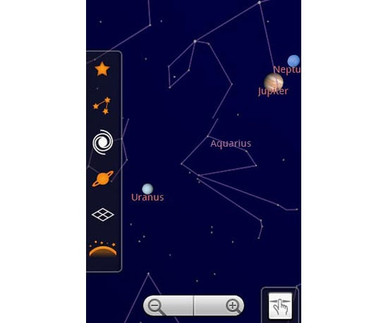 For the Space Geeks: Google Sky Map