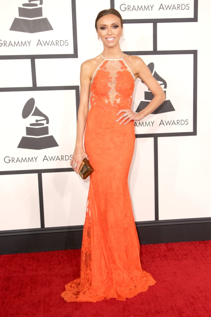 Giuliana Rancic at the Grammys 2014