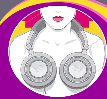 PartySugar Behind The Bash: Beats For Boobs