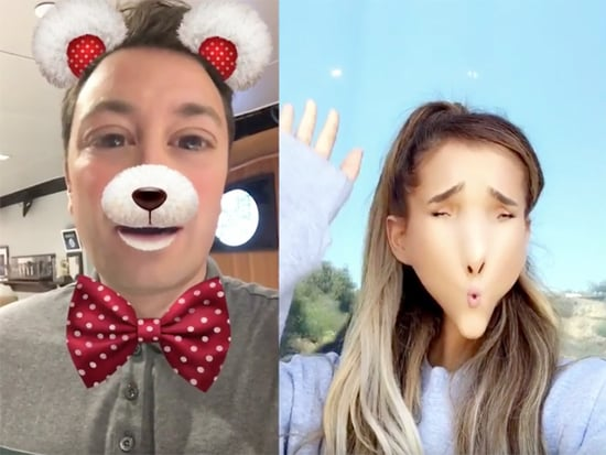 Ariana Grande and Jimmy Fallon Made a New Video for 'Into You' Using Goofy Snapchat Filters