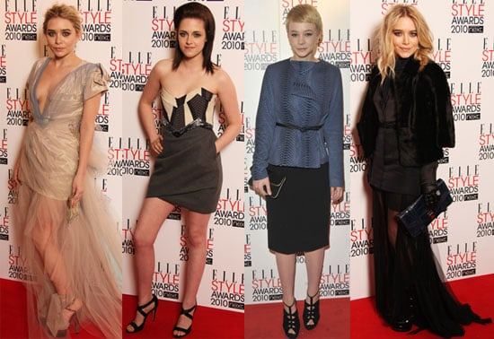 Kristen Stewart, MK, Ashley, and Carey Are All So Stylish