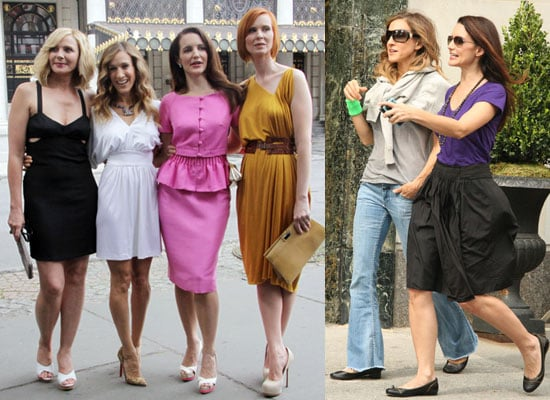 Photos of Kristin Davis With Sex and the City 2 Costars Sarah Jessica Parker, Cynthia Nixon, Kim Cattrall