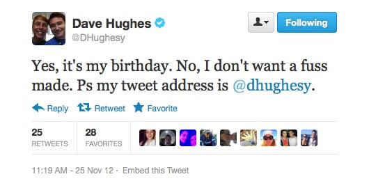 Oh, Dave Hughes . . . Funnier with each year!