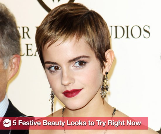 Pretty Hair and Makeup Looks For Holiday 2010