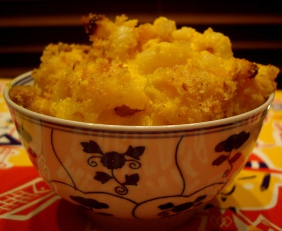 Butternut Squash Macaroni and Cheese