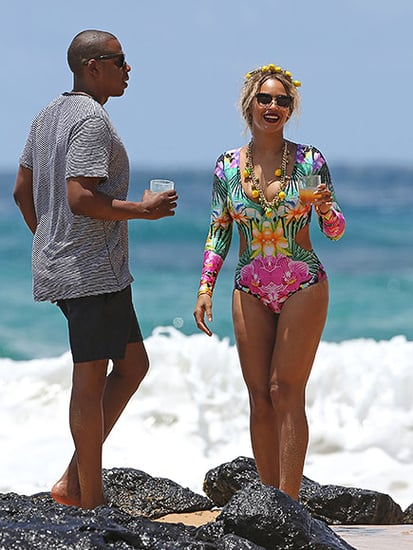 Beyoncé Enjoys Hawaiian Vacation with Jay Z and Blue Ivy - Plus See Her Lemonade-Themed Beach Outfit