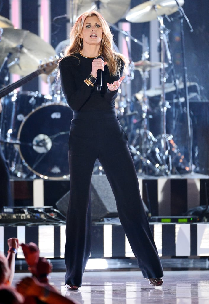 Faith Hill took to the stage.