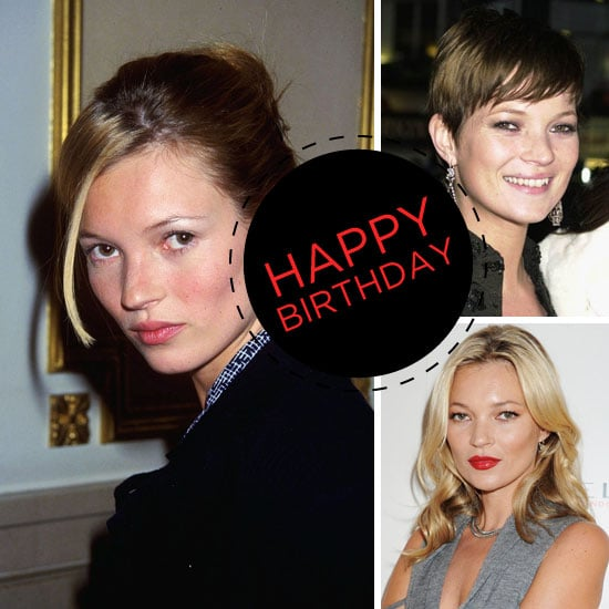 Celebrate Kate Moss's Birthday With Her Top Beauty Looks