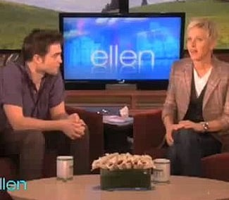 Video of Robert Pattinson on Ellen Talking Accents
