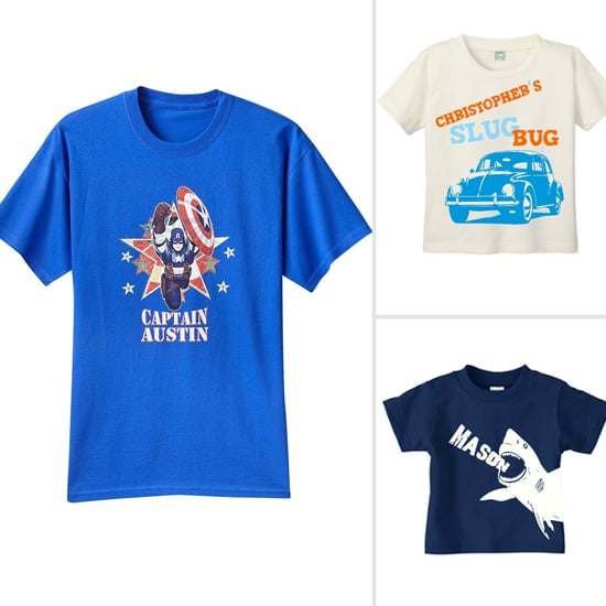 For the Boys: Totally Graphic Personalized Tees