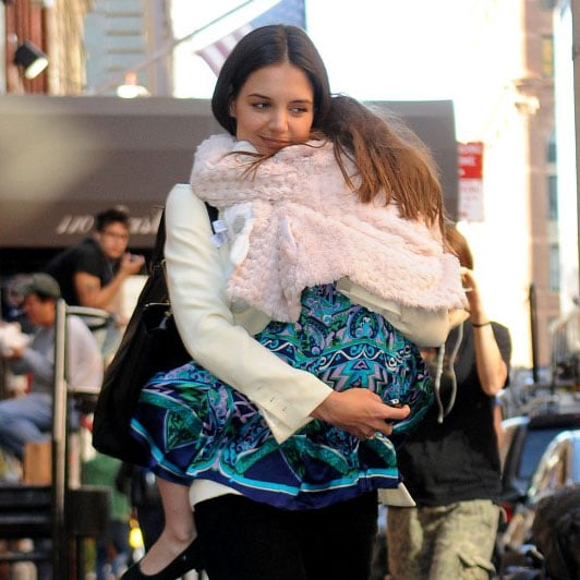 Suri Cruise and Katie Holmes in NYC Pictures