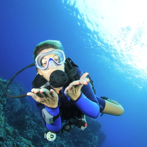 Scuba Diving as Exercise on Vacation