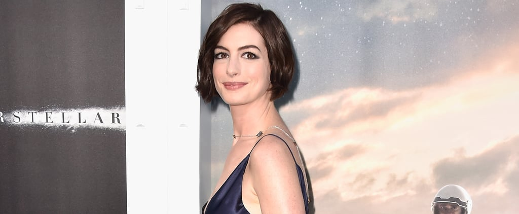 """Anne Hathaway Says She's Ready to Just """"Be Married and Take It Easy"""""""