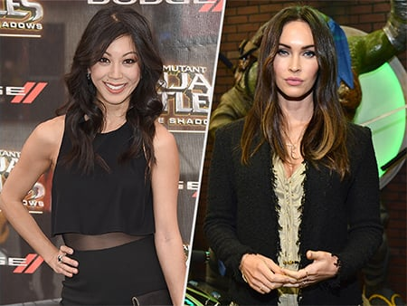 WATCH: What Did This TMNT: Out of The Shadows Star Bond Over with Megan Fox?