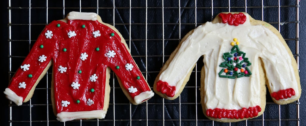 POPSUGAR Shout Out: Impress Guests With Ugly Christmas Sweater Cookies