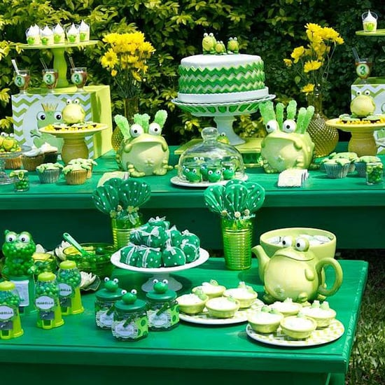 Frog Leap Day Birthday Party