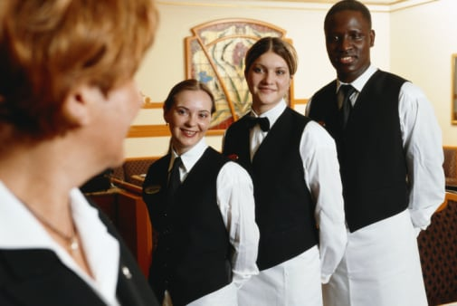 Let's Hear It For The Waitstaff!