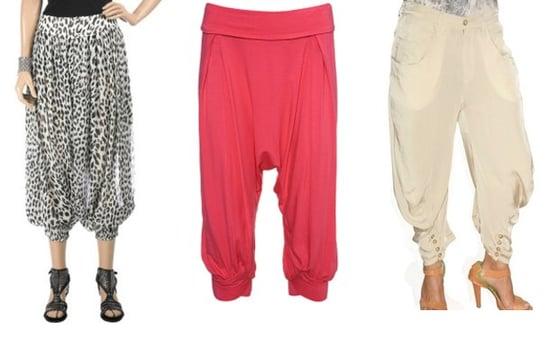Harem Trousers Get Breezy For Spring