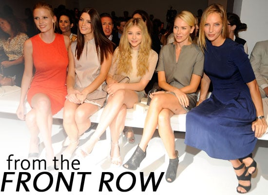 Pictures of Celebrities at New York Fashion Week: See Lara Stone, Dakota Fanning, Sofia Coppola and more!