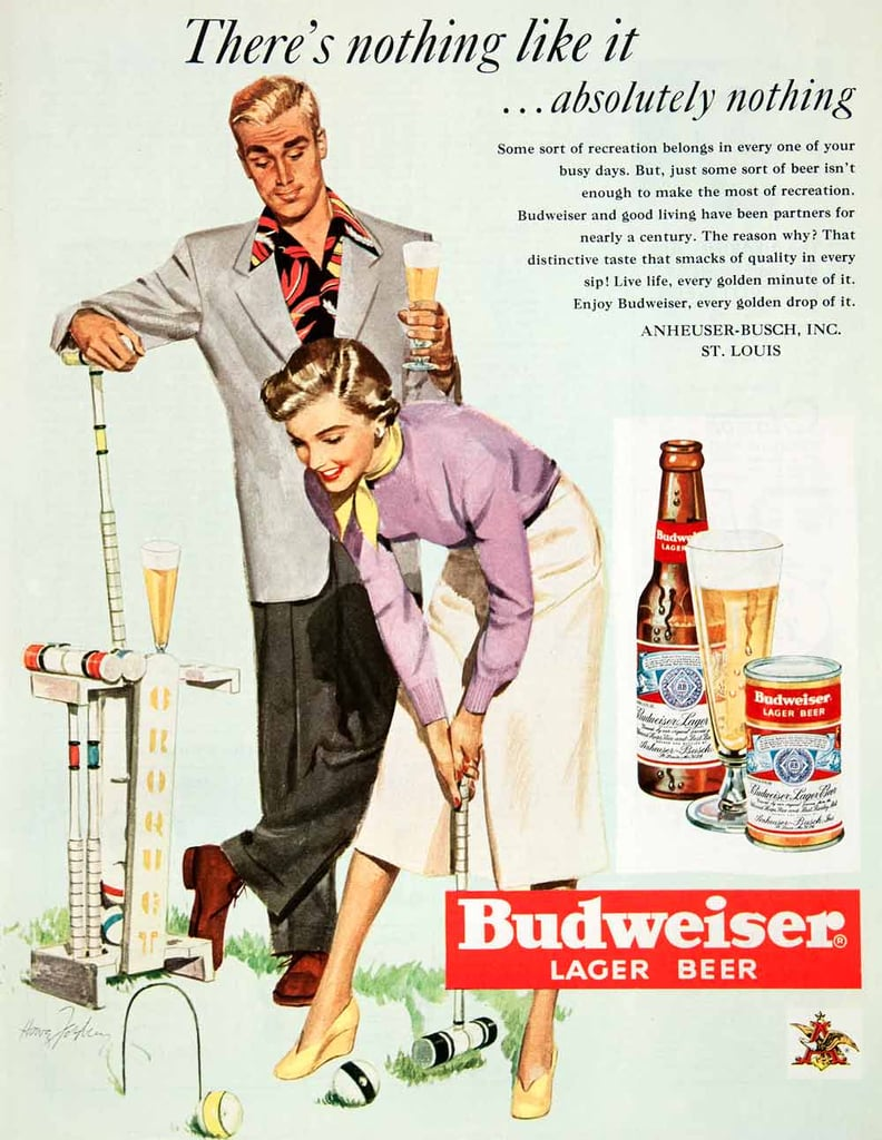 Beer and croquet . . . why not?