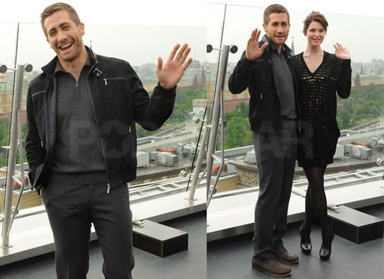 Pictures of Jake Gyllenhaal With Gemma Arterton at a Prince of Persia Press Call in Moscow