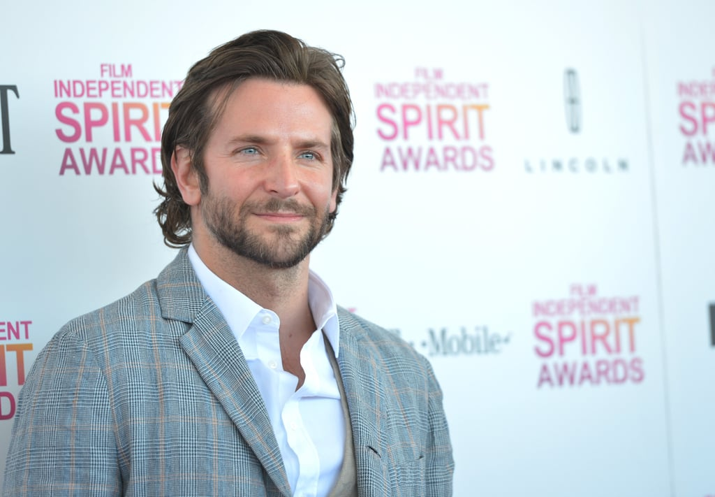 Bradley Cooper arrived at the Spirit Awards in Santa Monica.