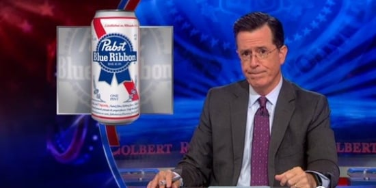 Stephen Colbert Calls On America To Defend Pabst From Russian Brewing Company