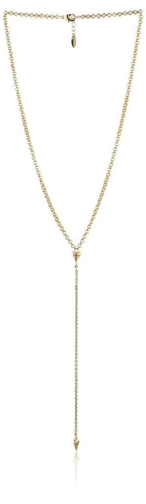 Ettika Exquisite Baby Shark Tooth Necklace ($84)