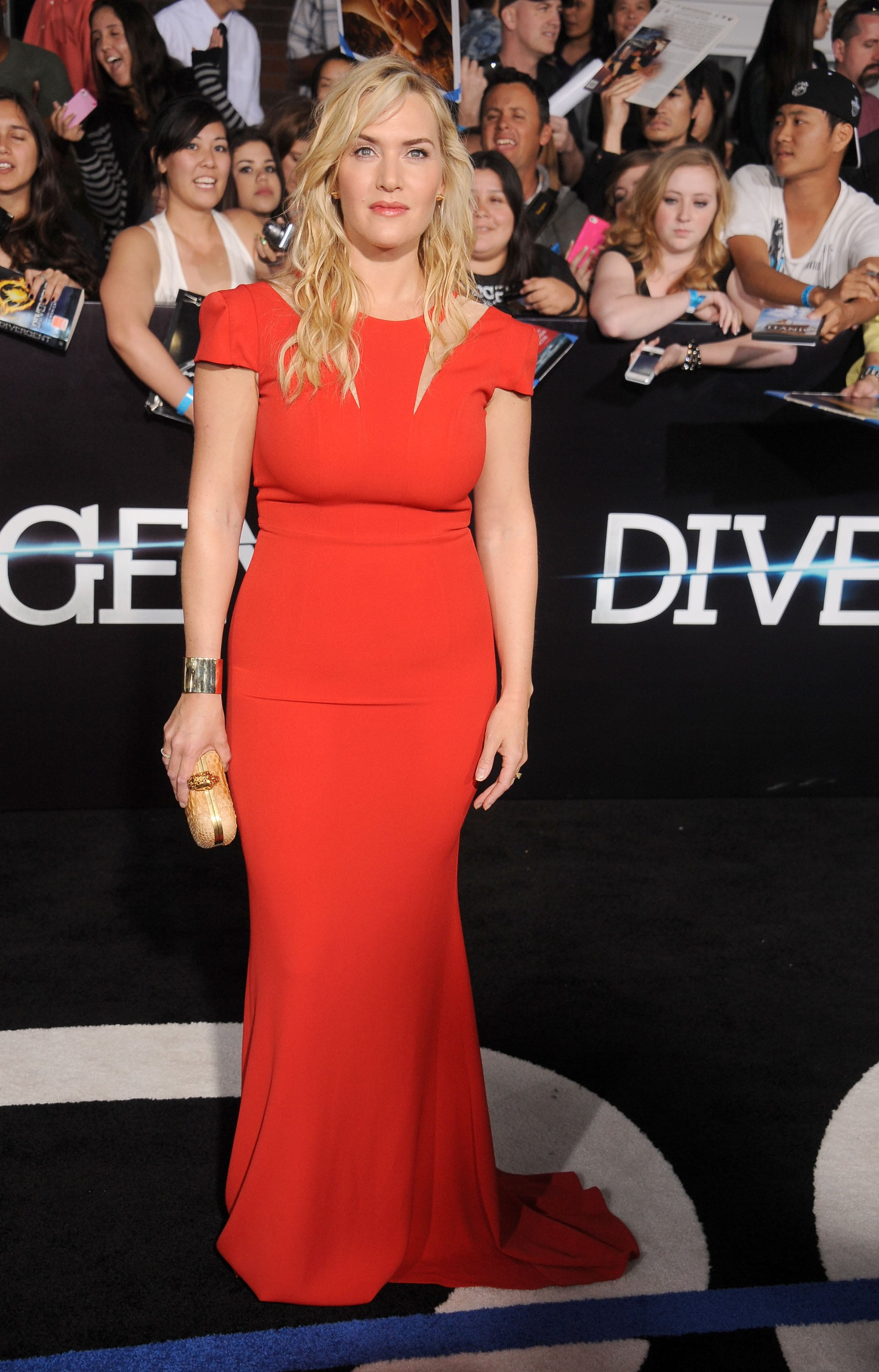 Kate Winslet at the Divergent Los Angeles Premiere