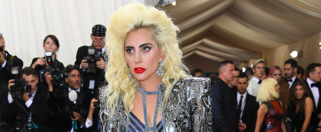 Lady Gaga Embraces Glam-Rock Beauty on the Met Gala Red Carpet